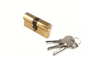 Цилиндр ключ/ключ 60C PG Цвет Золото