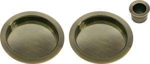 Ручки для раздвижных дверей MHS-1 AB Цвет Античная бронза