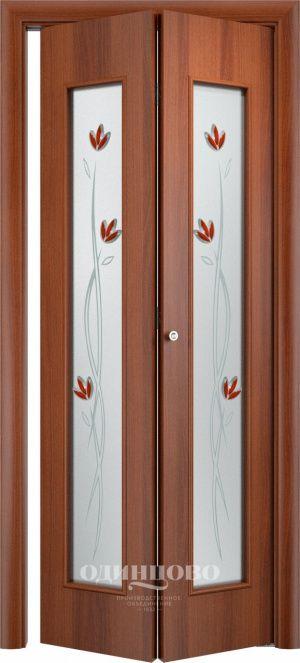 Дверь книжка С-17 Тюльпан