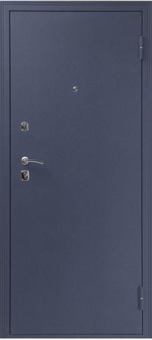 Входная дверь Катюша Синий сатин лиственница