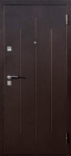 Входная дверь СтройГост 7-2 итальянский орех классика