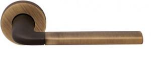 Дверная ручка Forme Milly 158 матовая бронза