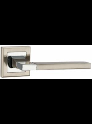 Дверная ручка PUNTO Tech матовый никель/хром