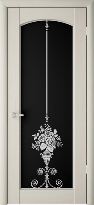 Дверь Верона триплекс черный