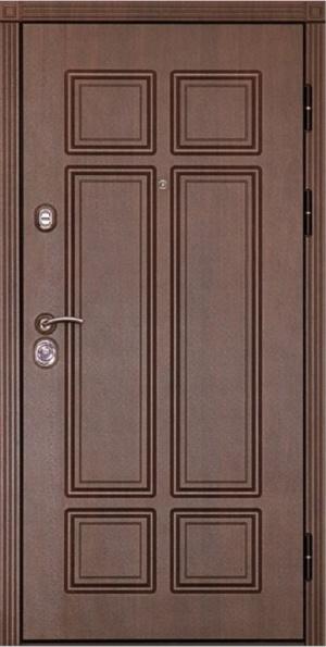 Входная дверь Консул беленый дуб