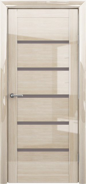 Дверь Вена глянец мокко ст. бронза