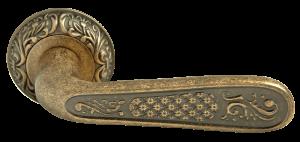 Дверная ручка RUCETTI RAP-CLASSIC 1 античная бронза