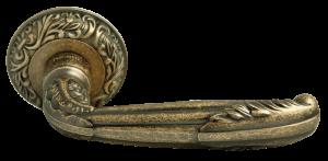 Дверная ручка RUCETTI RAP-CLASSIC 2 античная бронза