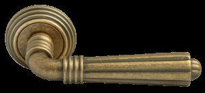 Дверные ручки RUCETTI RAP-CLASSIC-L 5 античная бронза