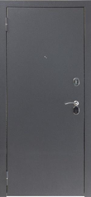 Входная дверь 80 3к серебро Женева Миланский орех