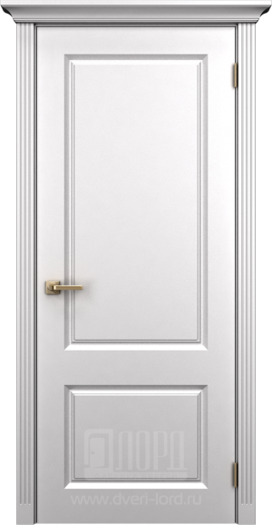 Дверь Корона 1 глухая эмаль