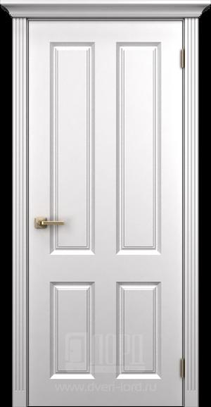 Дверь Корона 4 глухая эмаль