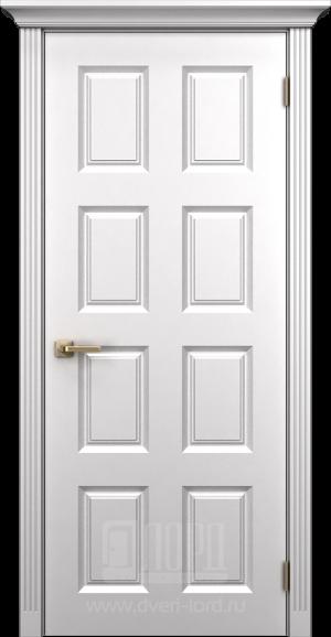 Дверь Корона 5 глухая эмаль