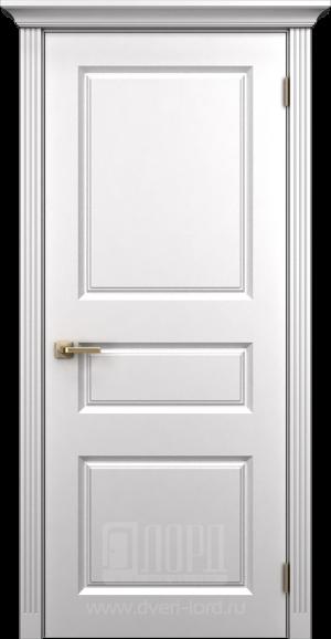 Дверь Корона 7 глухая эмаль