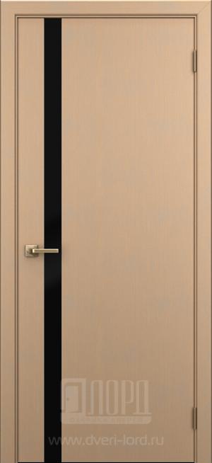 Дверь Альфа ст. черный лакобель