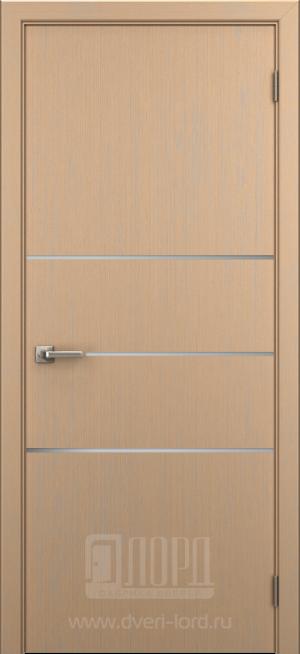 Дверь Техно 3 алюм молдинг