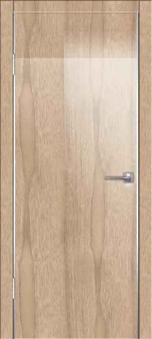 Дверь ДГ-500 алюм.кромка глянец