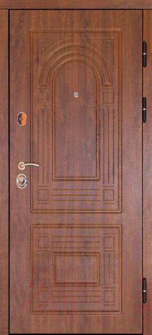 Сейф дверь Флоренция дуб золотой