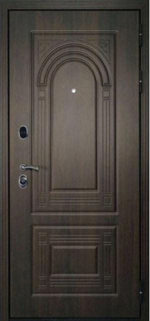 Сейф дверь Флоренция орех мокко/дуб беленый