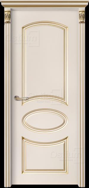 Дверь Мишель ДГ эмаль патина