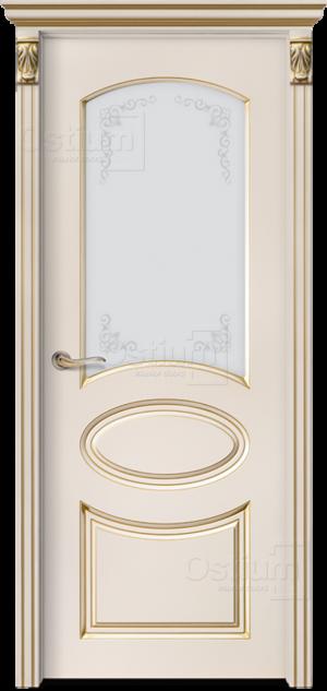 Дверь Мишель 2 ДО патина