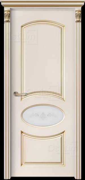Дверь Мишель 3 ДО патина
