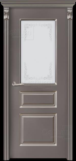 Дверь Леон 2 ДО патина