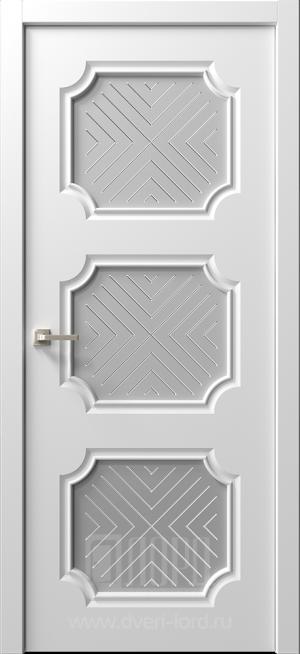 Дверь Ренессанс 4 ст. Ручелли сатин