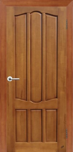 Дверь массив Натурель ДГ