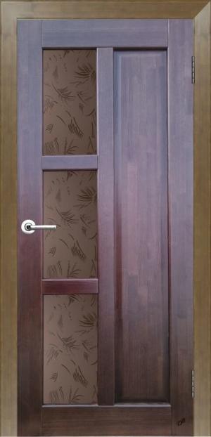 Дверь массив Модерн ДГО№2 ст. Шале