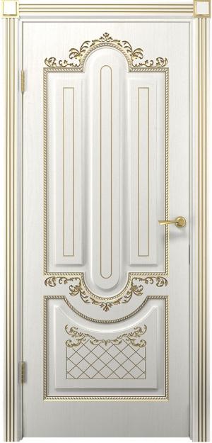 Дверь Олимпия ДГ патина золото