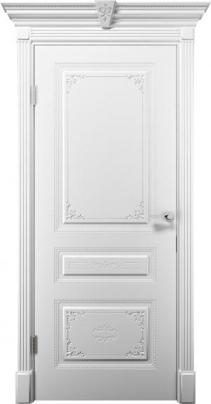 Дверь Эмилия ДГ эмаль белая
