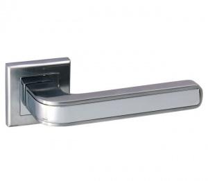 Дверная ручка ADDEN BAU PIEZA Q360 сатин/хром с подсветкой