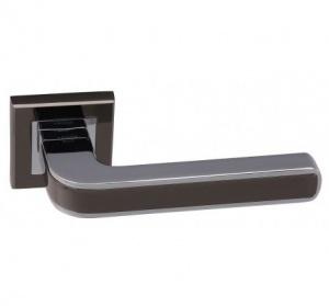 Дверная ручка ADDEN BAU PIEZA Q360 черный никель/хром с подсветкой