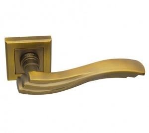 Дверная ручка ADDEN BAU ONDA Q304 матовый кофе с подсветкой