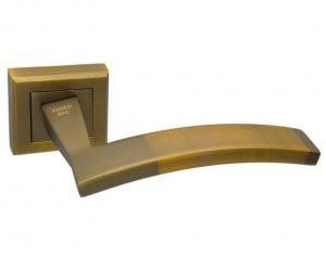 Дверная ручка ADDEN BAU ARCO Q305 матовый кофе с подсветкой