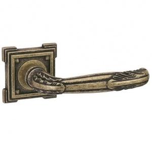 Дверная ручка ADDEN BAU FLAMINGO VQ204 состаренная бронза с подсветкой