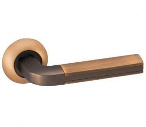 Дверная ручка ADDEN BAU PAREJO A193 кофе с подсветкой