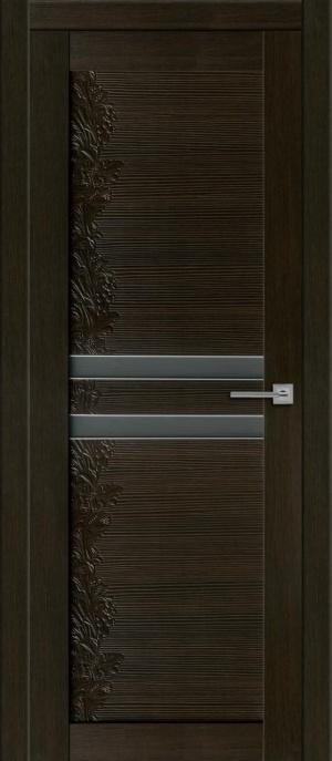 Дверь Изабелла алюм. молдинг