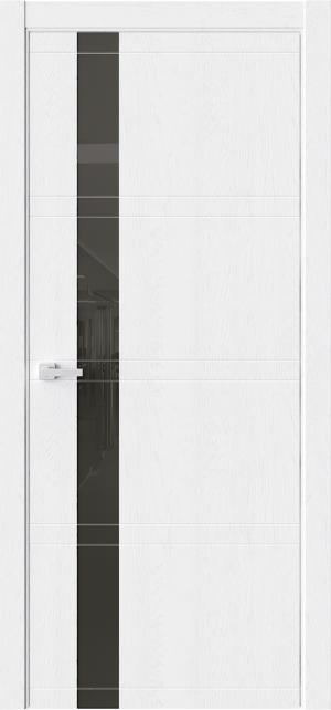 Дверь ЭВО 1 дуб винта ст. черный лакобель
