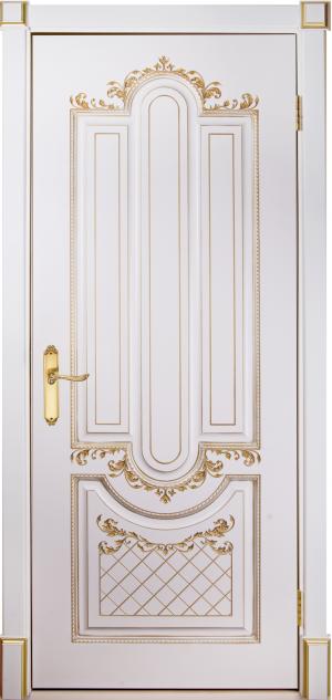 Дверь Александрия 2 патина золото