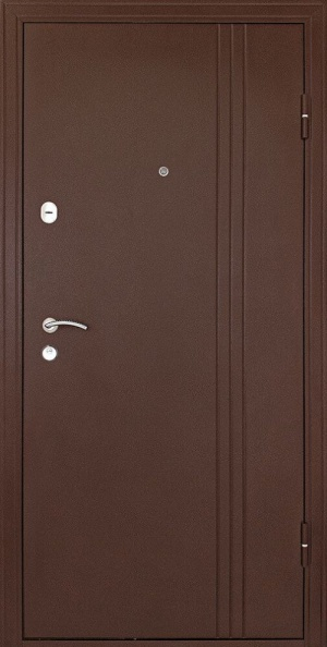 Входная дверь Турин орех/беленый дуб