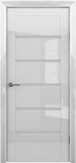 Дверь Вена глянец белый ст. сатин