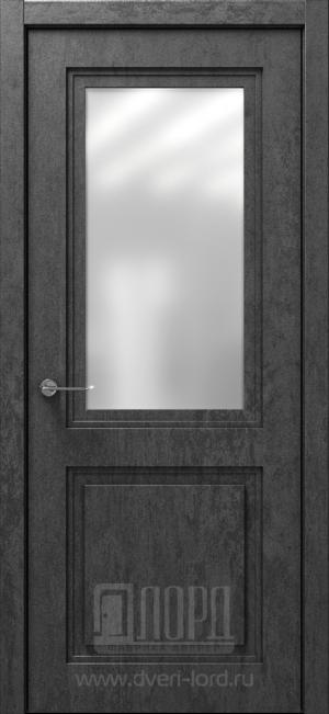 Дверь Монте 1-2 ст. сатинат матовый