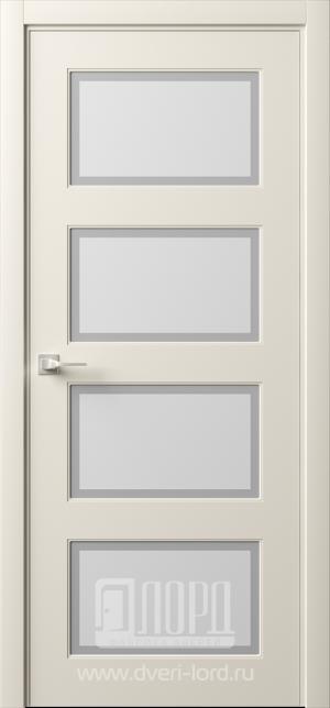 Дверь Италия 3 ст. матовое имитация фацета