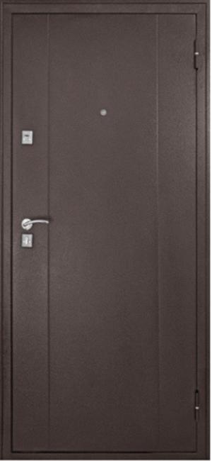 Входная дверь Форпост 72 металл/металл