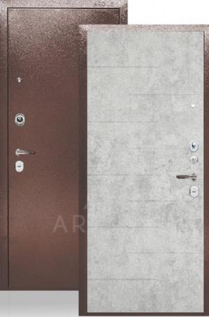 Сейф-дверь «ДА-24» Никсон бетон светлый