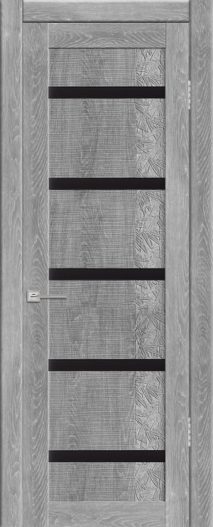 Дверь Агата черн. лакобель