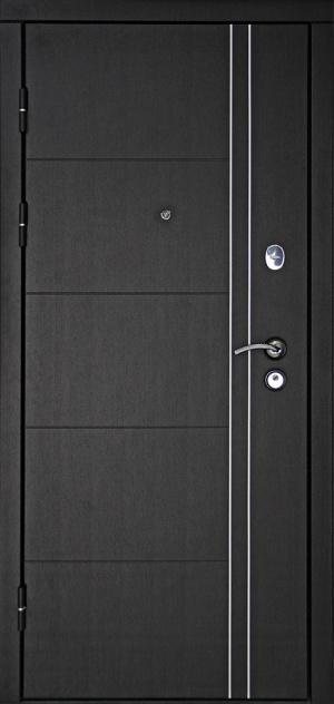 Входная дверь Тепло люкс 3К дуб беленый