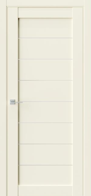 Дверь Триумф Q48 бежевый эмалит ст сатин